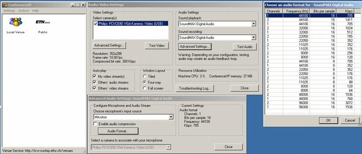 audiosetting